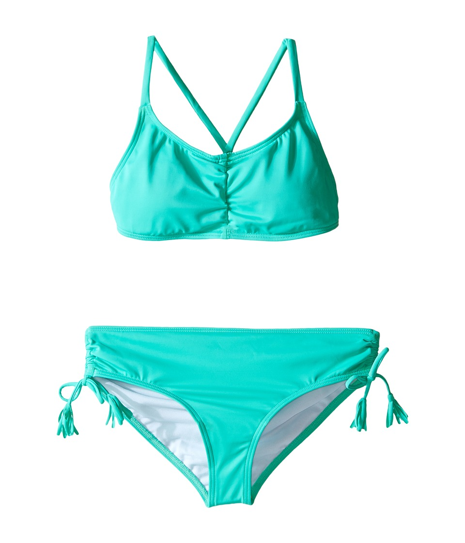 Billabong Kids - Sol Searcher Tali Set (Little Kids/Big Kids) (Teal) Girl's Swimwear Sets