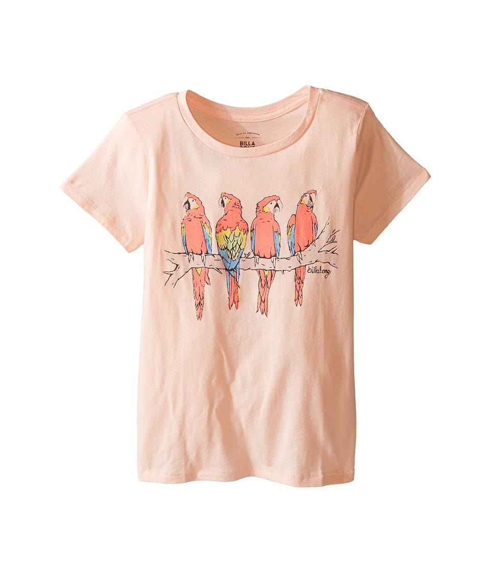 Billabong Kids - Summer Ride T-Shirt (Little Kids/Big Kids) (Blush) Girl's T Shirt