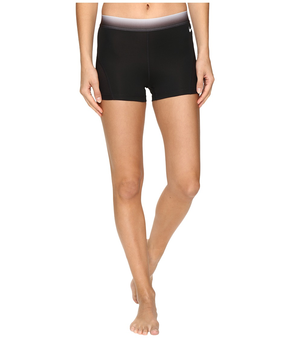 Nike - Pro Hypercool 3 Training Short (Black/Dark Grey/White) Women's Shorts