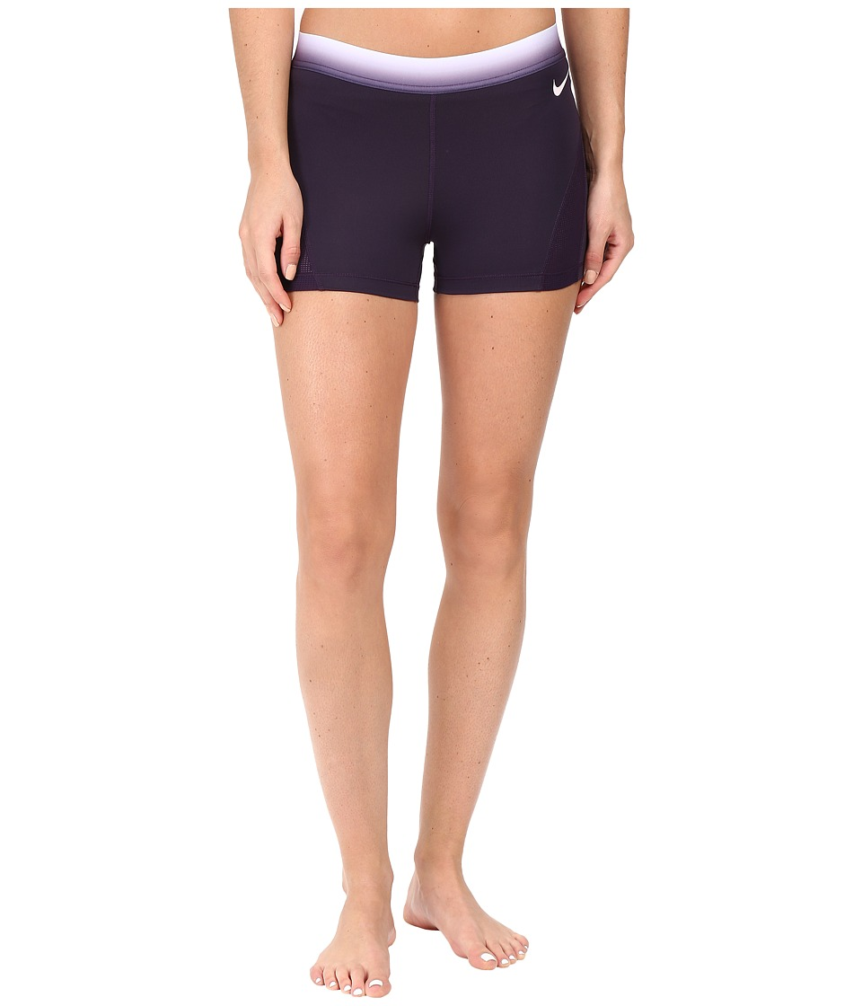 Nike Pro Hypercool 3 Training Short (Purple Dynasty/Peach Cream) Women