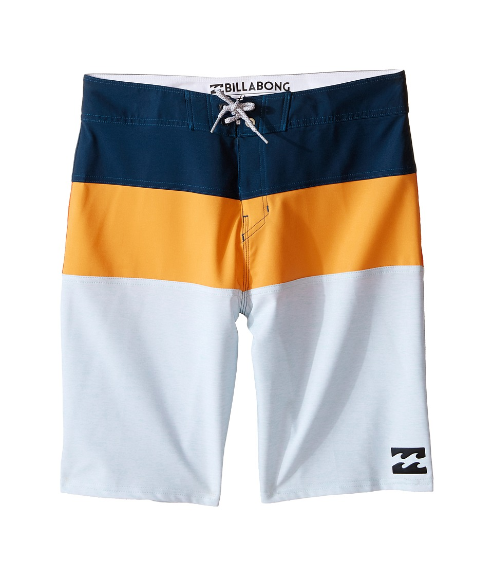Billabong Kids - Tribong X Boardshorts (Big Kids) (Tangerine) Boy's Swimwear