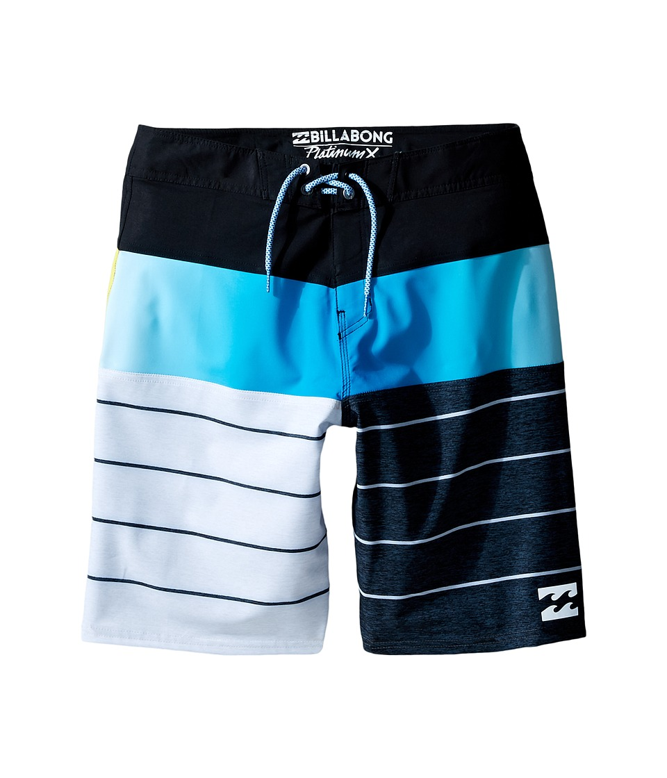 Billabong Kids - Tribong X Boardshorts (Big Kids) (Black) Boy's Swimwear