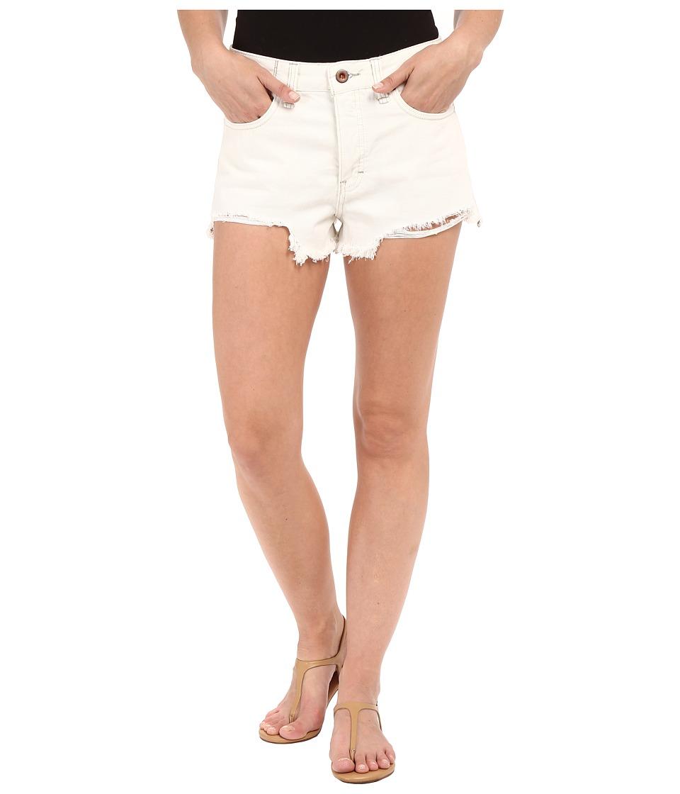 Free People - Logan Shorts (Optic White) Women's Shorts