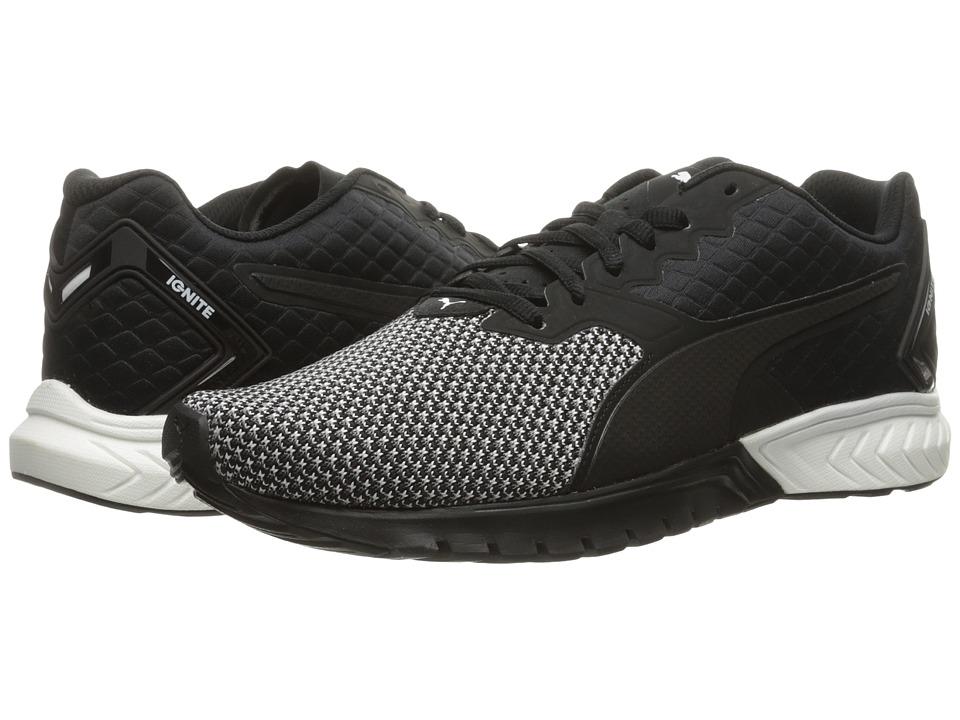 PUMA - Ignite Dual Nylon (Puma Black/Puma White) Men's Running Shoes