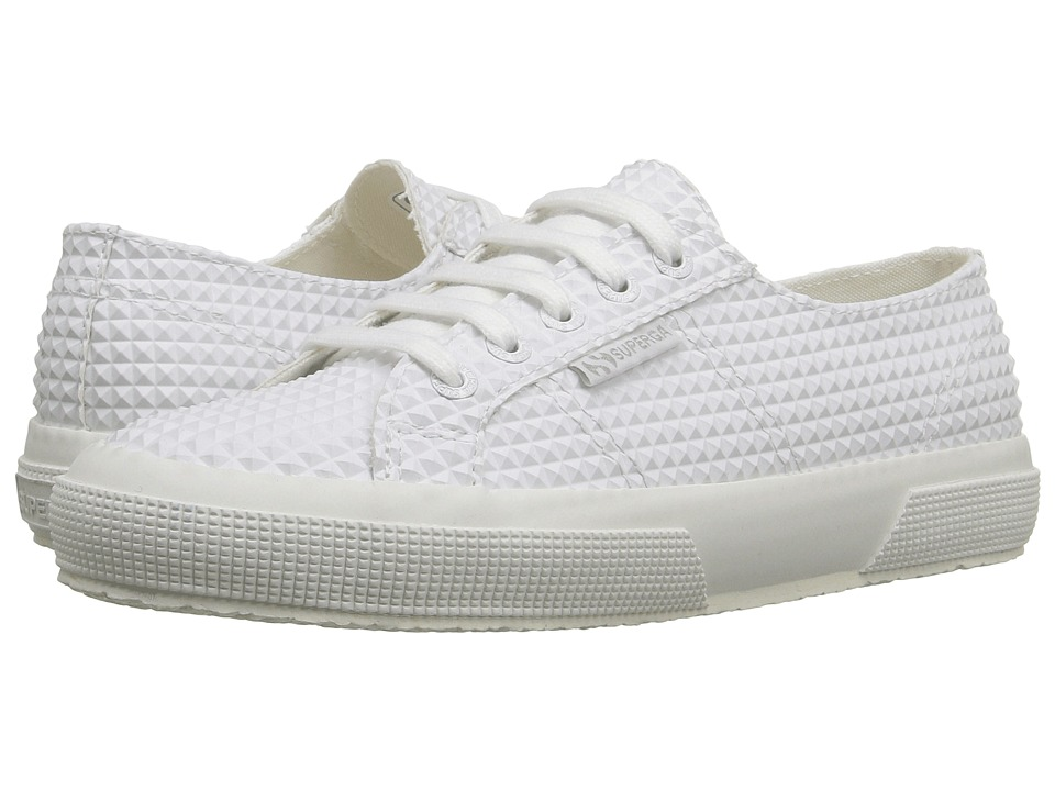 Superga - 2750 Rbrpyramindu (White) Women's Shoes