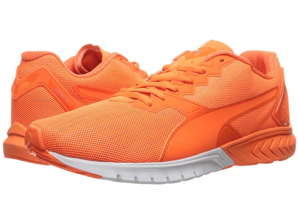 PUMA - Ignite Dual Nightcat (Shocking Orange) Men's Shoes