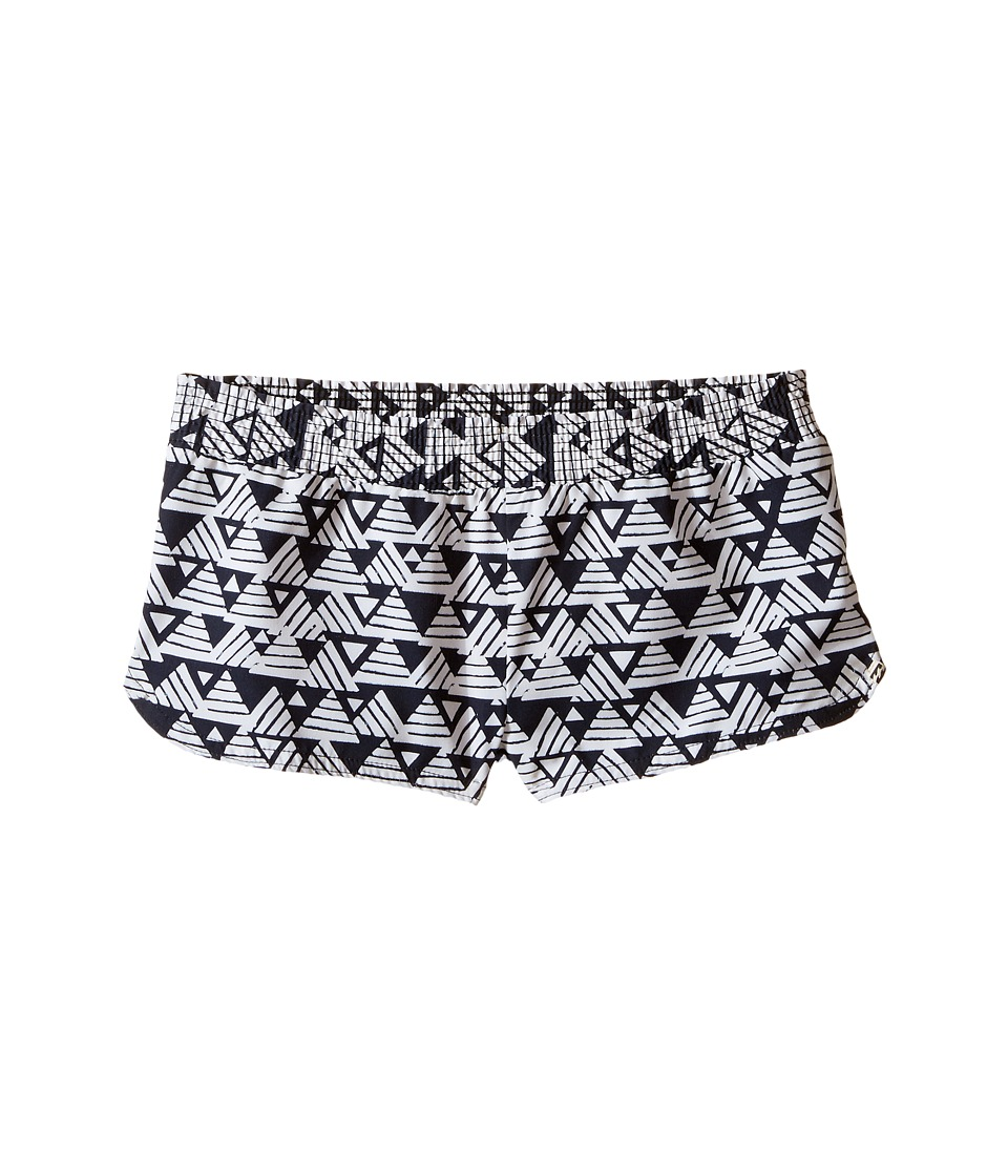 Billabong Kids - Geo Delight 2 Volley Shorts (Little Kids/Big Kids) (Black Sands) Girl's Swimwear