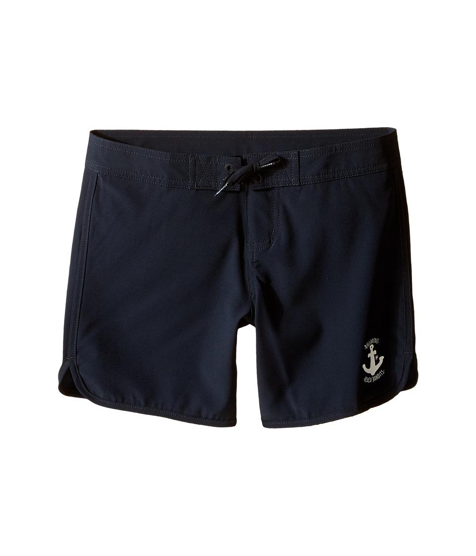 Billabong Kids - Sol Searcher 5 Fixed Boardshorts (Little Kids/Big Kids) (Black Sands 2) Girl's Swimwear