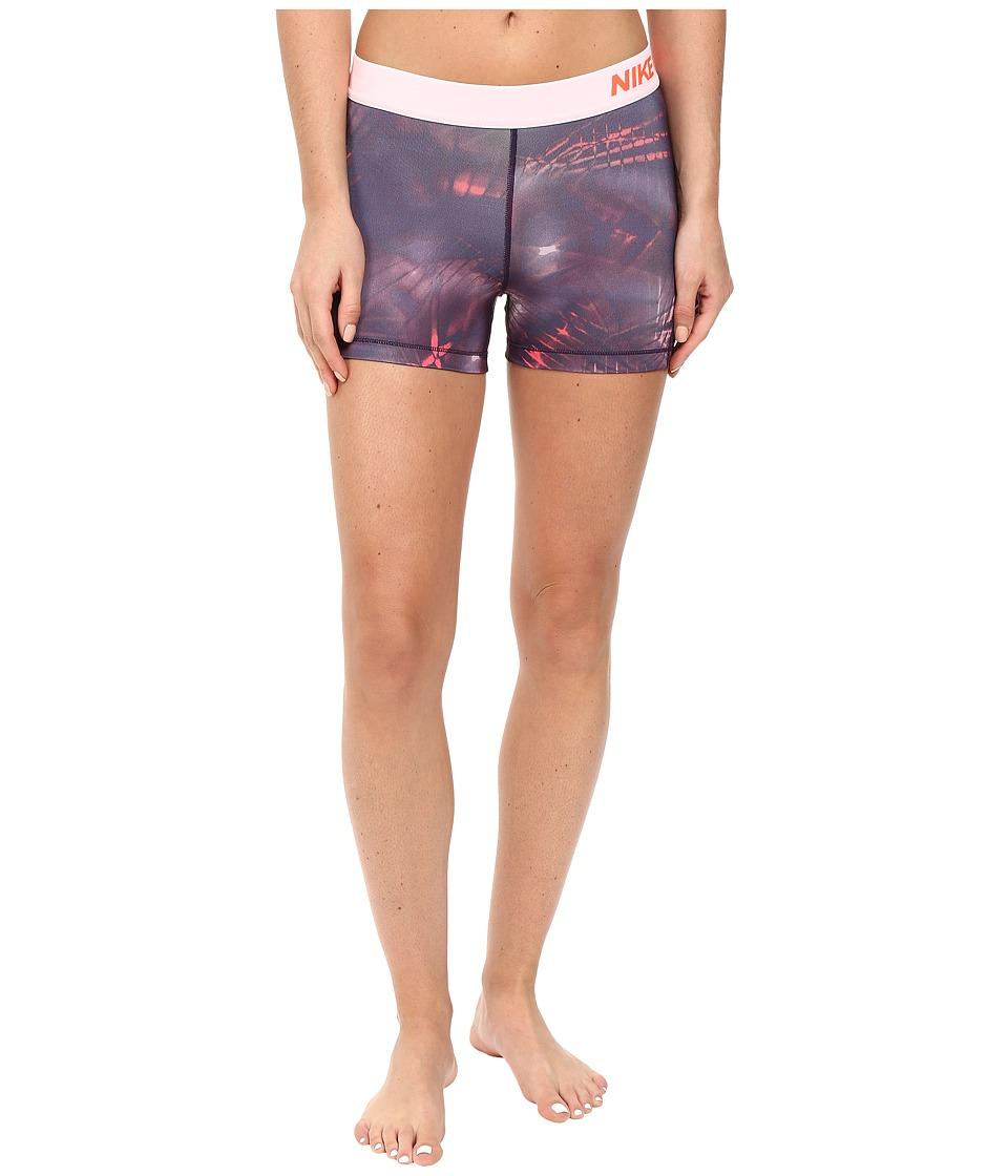Nike - Pro 3 Cool Short (Purple Dynasty/Purple Dynasty) Women's Shorts