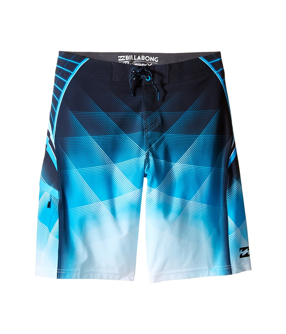 Billabong Kids - Fluid X Boardshorts (Big Kids) (Electric Blue) Boy's Swimwear