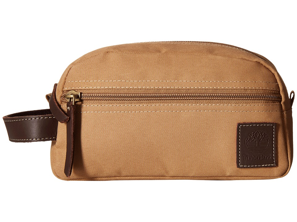Timberland - Canvas Travel Kit (Khaki 1) Travel Pouch