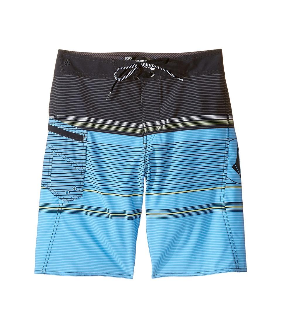 Volcom Kids - Lido Liner Mod Boardshorts (Big Kids) (Lightweight Vintage) Boy's Swimwear
