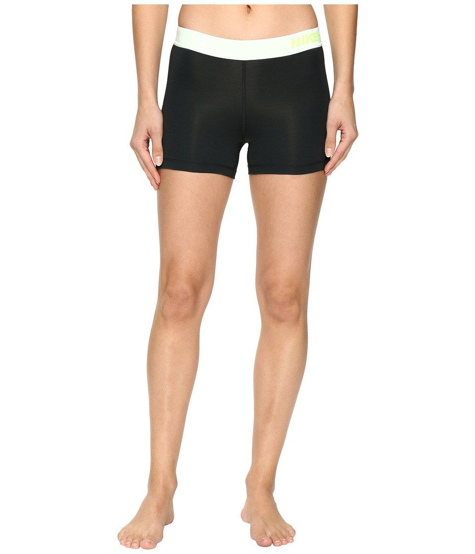 Nike - Pro 3 Cool Compression Training Short (Seaweed/Volt/Volt) Women's Shorts