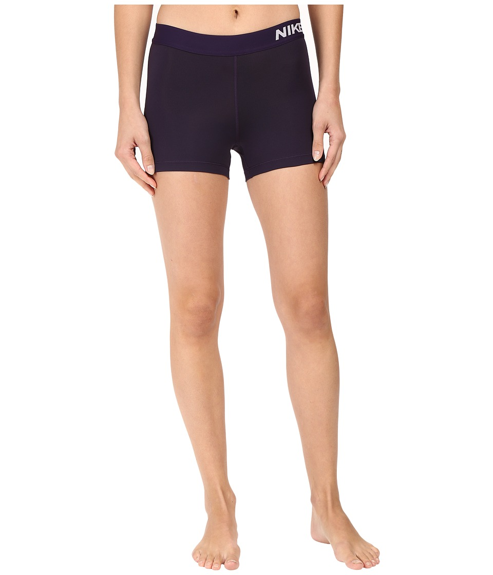 Nike - Pro 3 Cool Compression Training Short (Purple Dynasty/Bleached Lilac) Women's Shorts