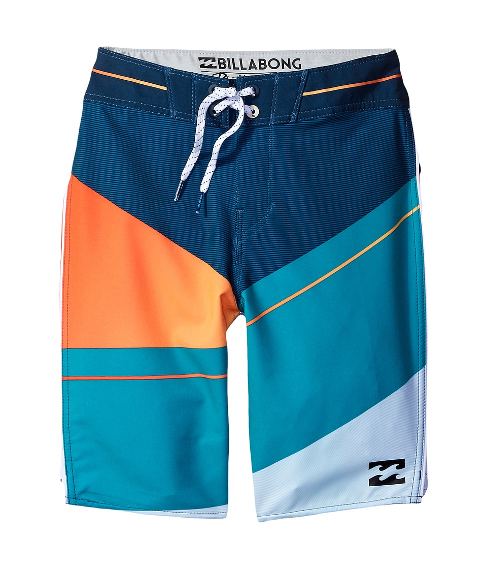 Billabong Kids - Slice X Boardshorts (Big Kids) (Ocean) Boy's Swimwear