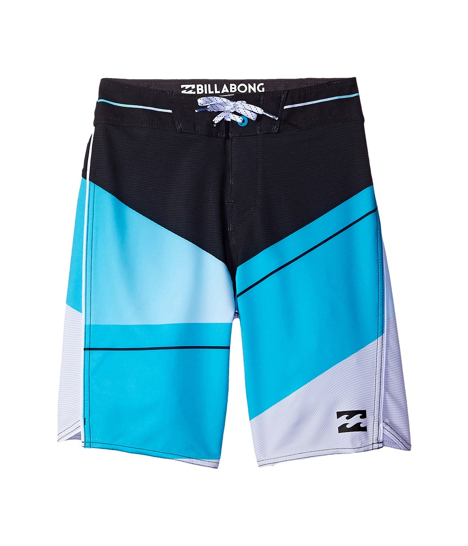 Billabong Kids - Slice X Boardshorts (Big Kids) (Electric Blue) Boy's Swimwear