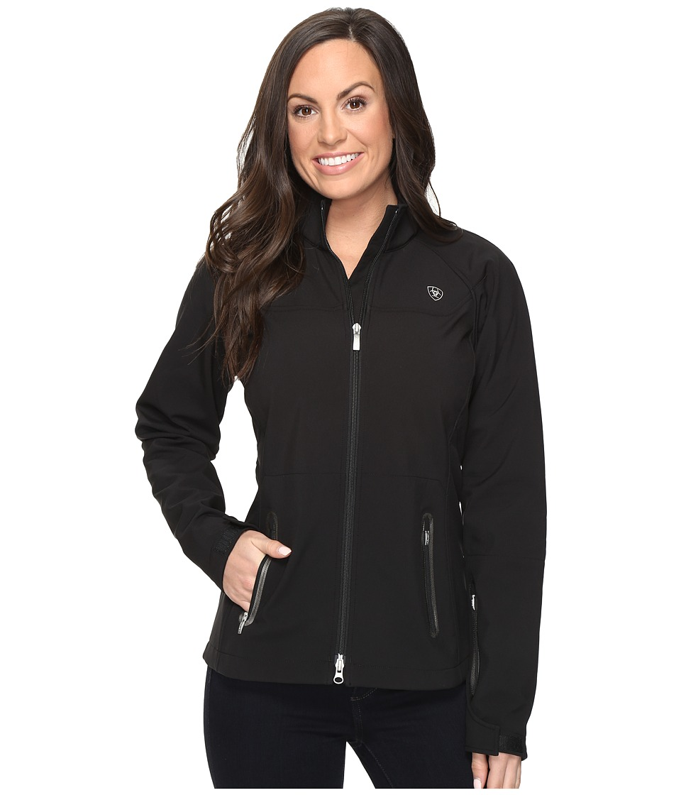 Ariat - Vivid Softshell Jacket (Black) Women's Coat