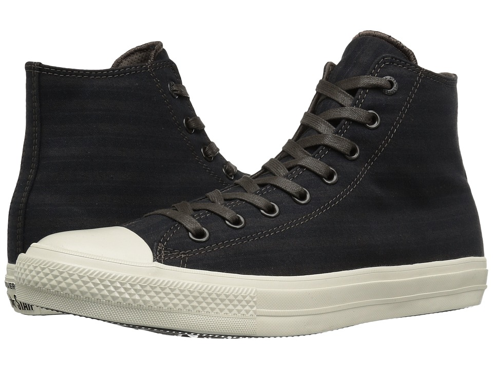 Converse by John Varvatos - Chuck Taylor All Star II Hi Textile (Dark Chocolate) Shoes