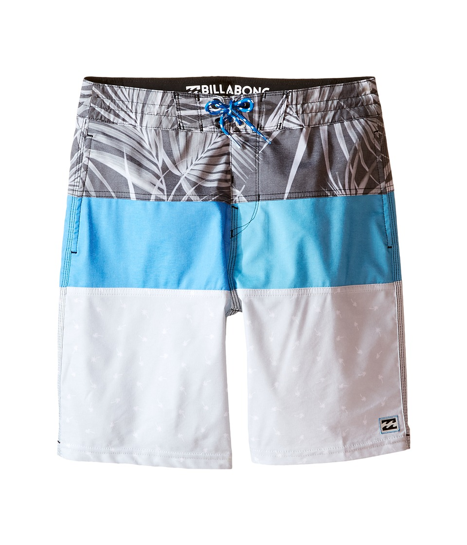 Billabong Kids - Tribong Bungalow Lo Tides Boardshorts (Big Kids) (Electric Blue) Boy's Swimwear