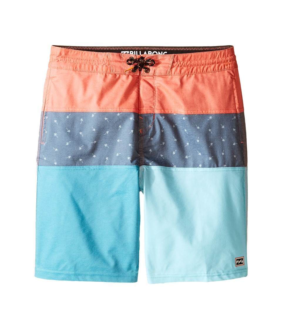 Billabong Kids - Tribong Bungalow Lo Tides Boardshorts (Big Kids) (Ice) Boy's Swimwear