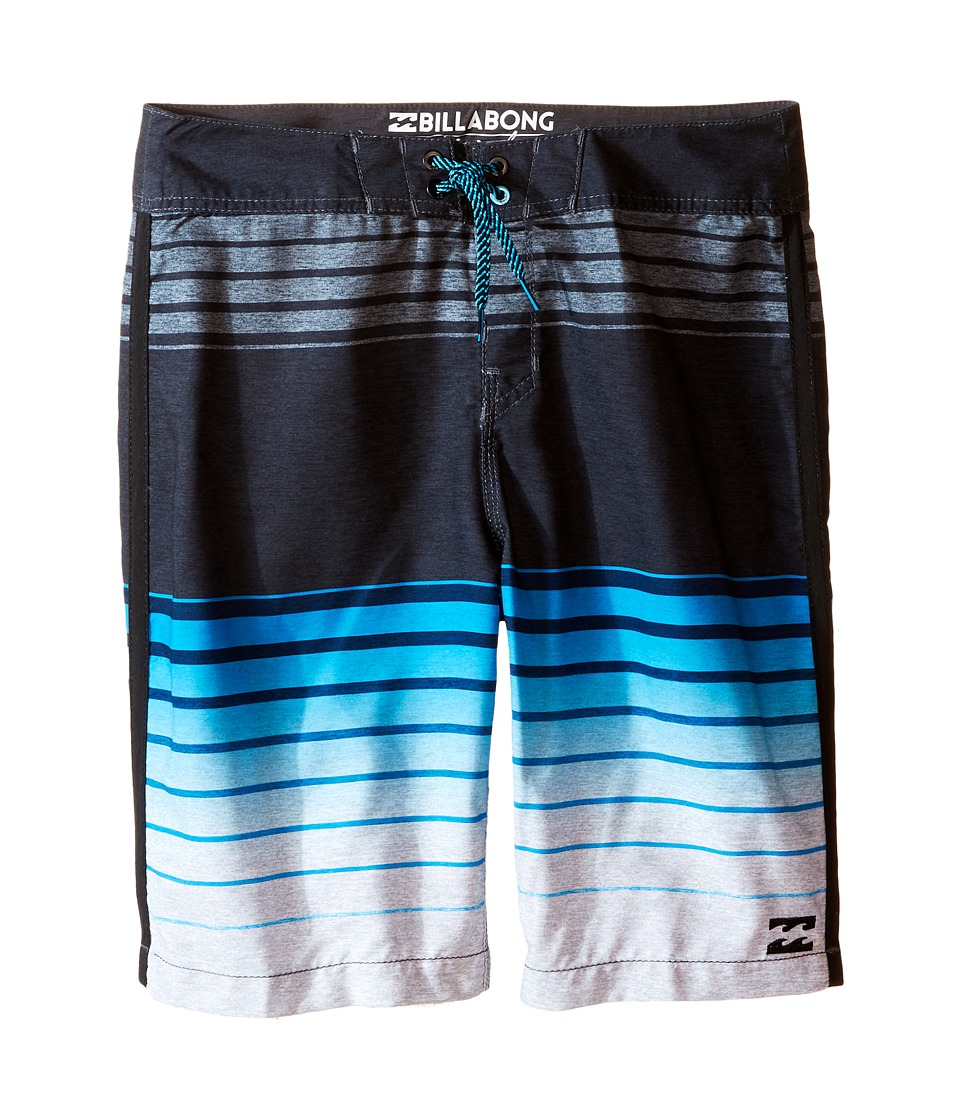 Billabong Kids - All Day Faded Boardshorts (Big Kids) (Electric Blue) Boy's Swimwear