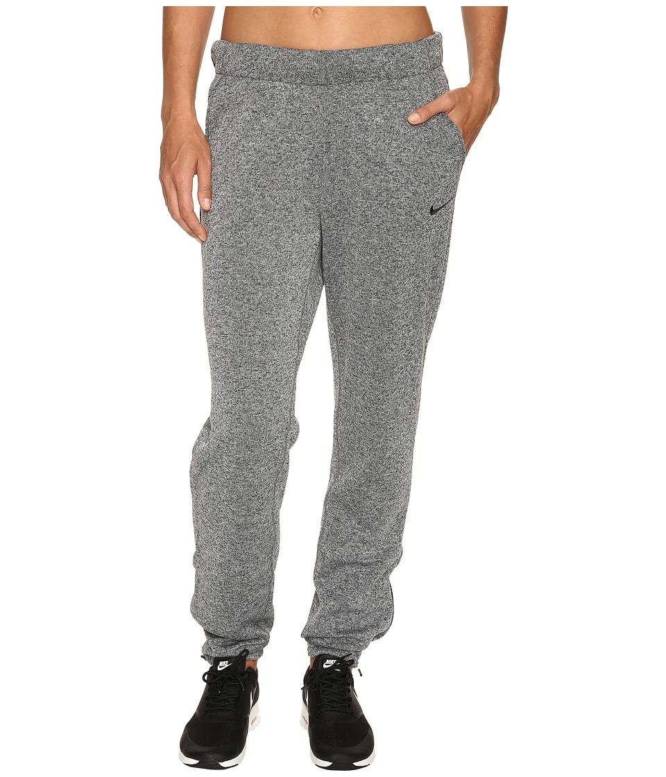 Nike - Therma Training Pant (Wolf Grey/Heather/Black/Black) Women's Casual Pants