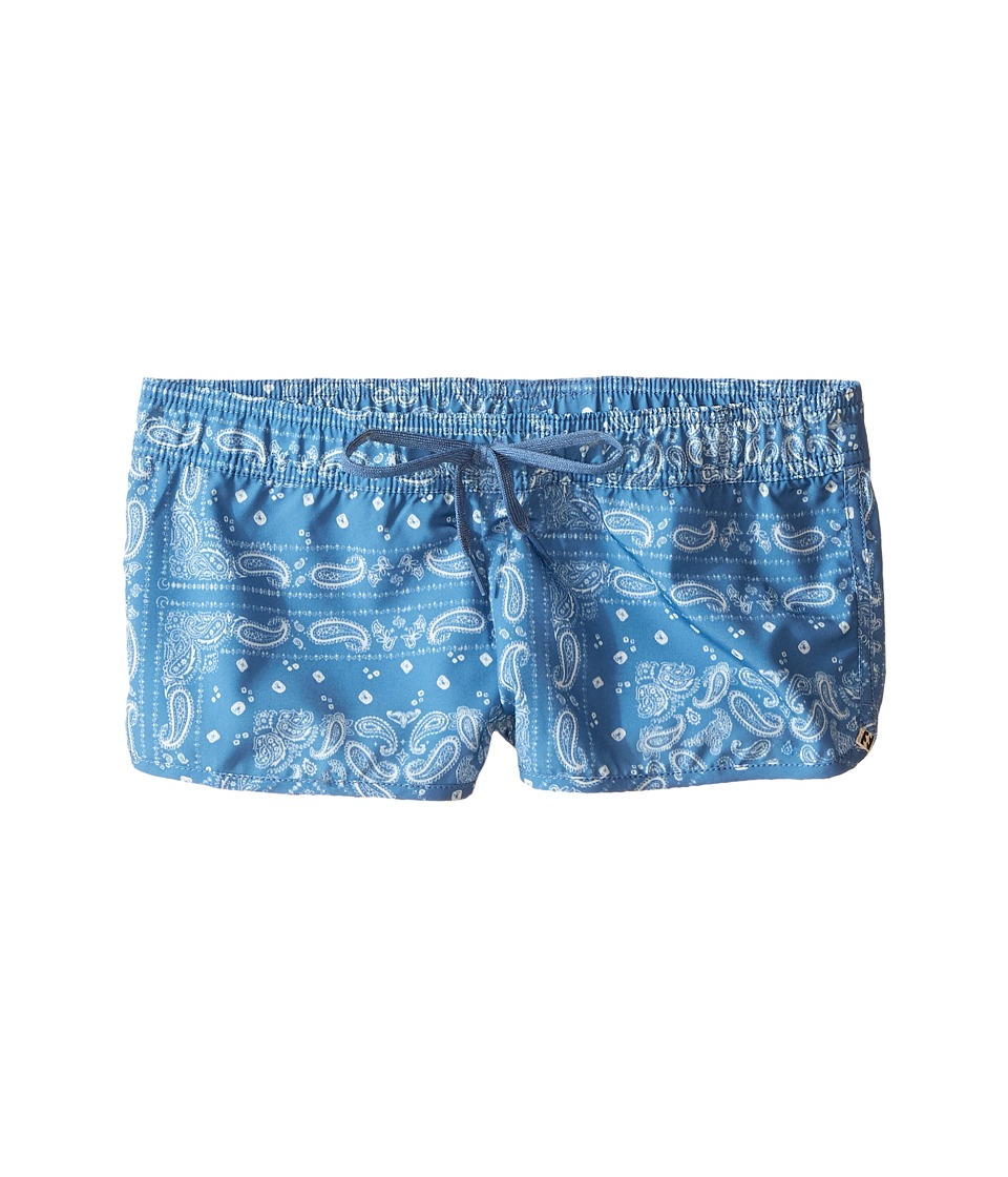 Billabong Kids Bandana Rama Volley Shorts (Little Kids/Big Kids) (Indigo) Girl