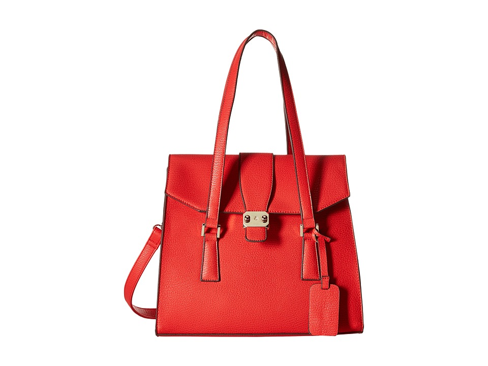 Gabriella Rocha - Samiya Satchel with Belts (Red) Satchel Handbags