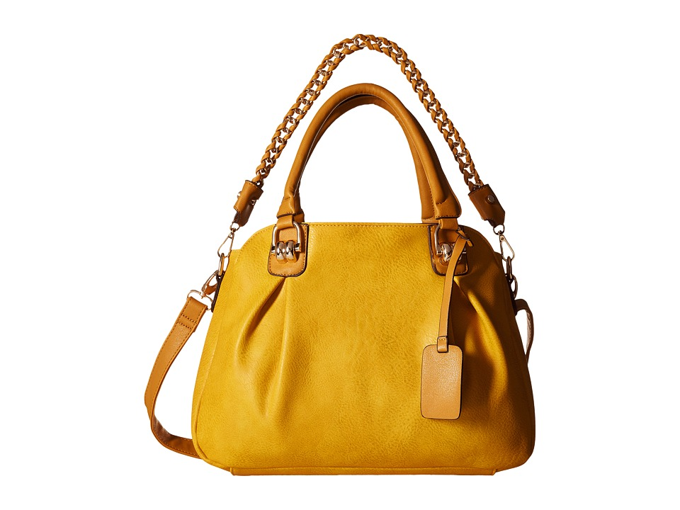 Gabriella Rocha - Saana Satchel with Chain (Mustard) Satchel Handbags
