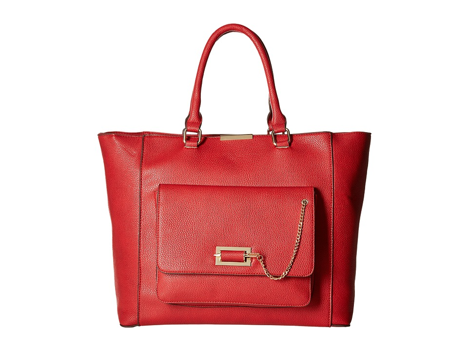Gabriella Rocha - Trista Satchel with Front Pocket (Red) Satchel Handbags