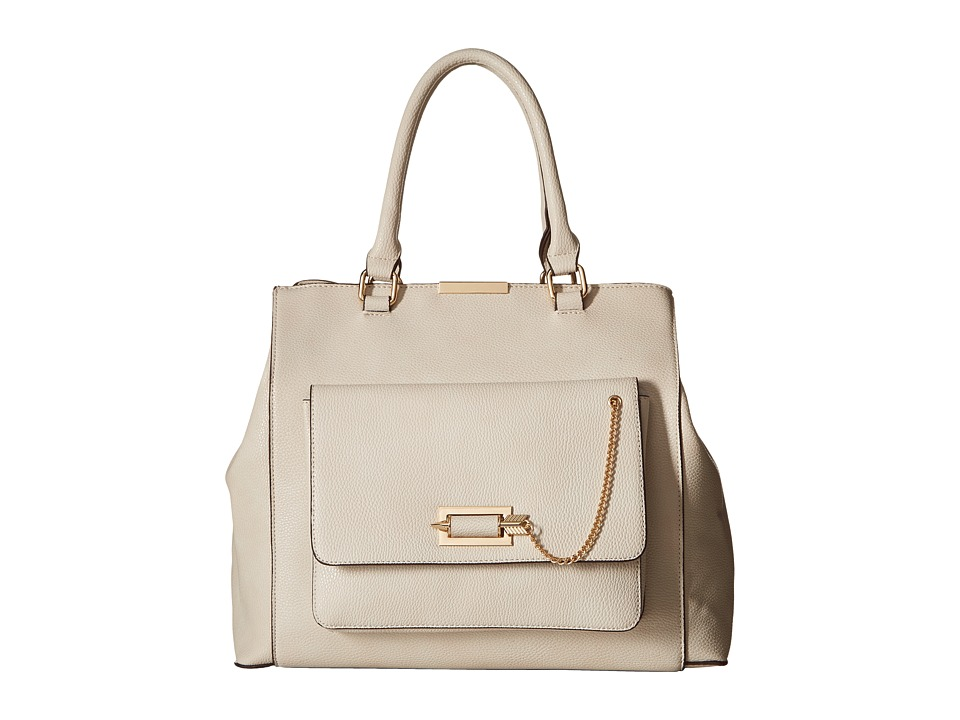 Gabriella Rocha - Trista Satchel with Front Pocket (Beige) Satchel Handbags