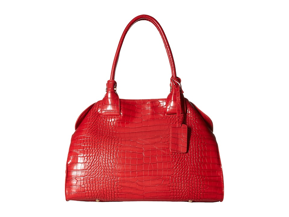 Gabriella Rocha - Aliyah Satchel with Crocodile Detail (Red) Satchel Handbags