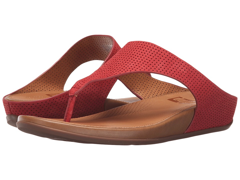 FitFlop - Banda Perf (Dusty Red) Women's Sandals