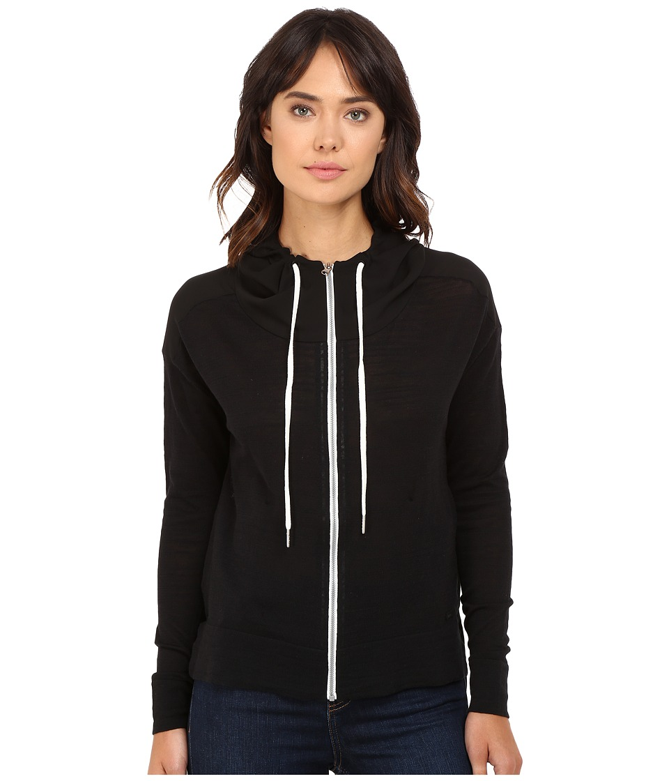 Bench - Thursoeast Zip-Up Sweater (Jet Black) Women's Sweater