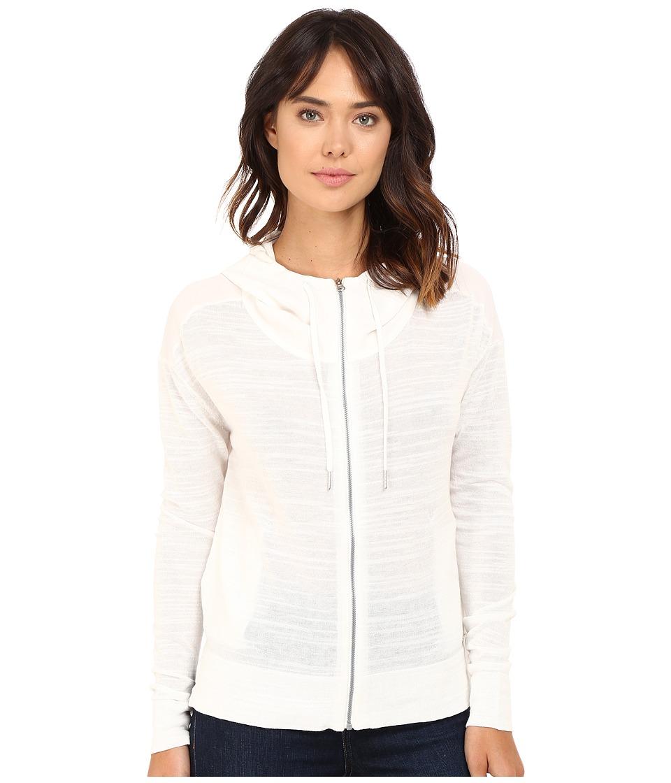 Bench - Thursoeast Zip-Up Sweater (White) Women's Sweater