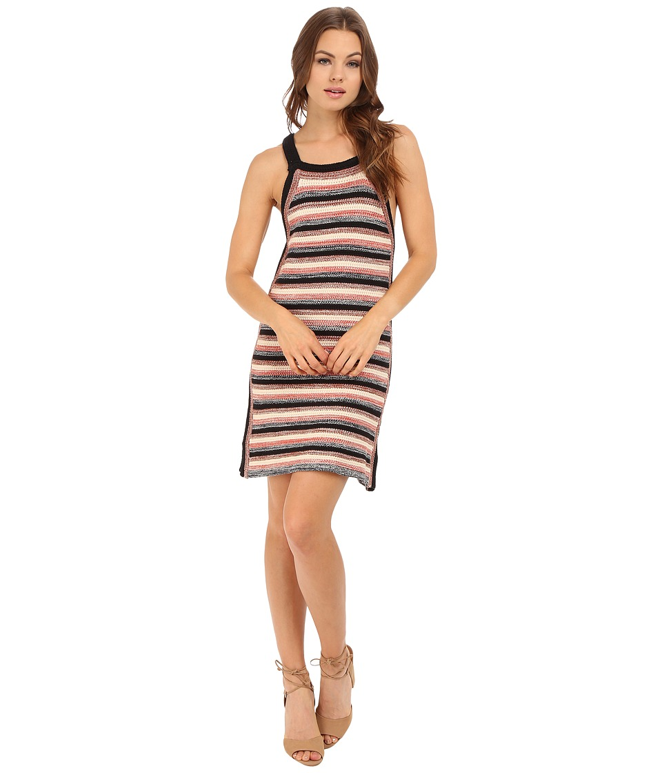 Free People - Retro Ruby Dress (Black Combo) Women's Dress