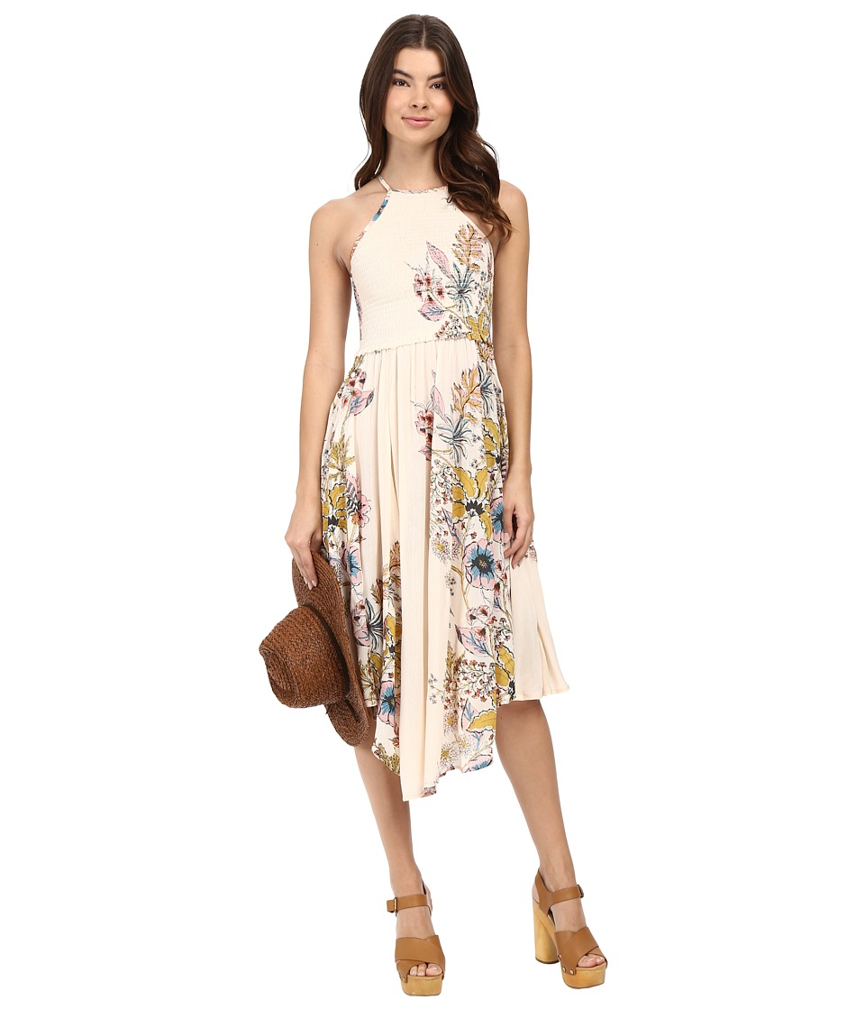 Free People - Seasons in the Sun Slip (Ivory Combo) Women's Dress
