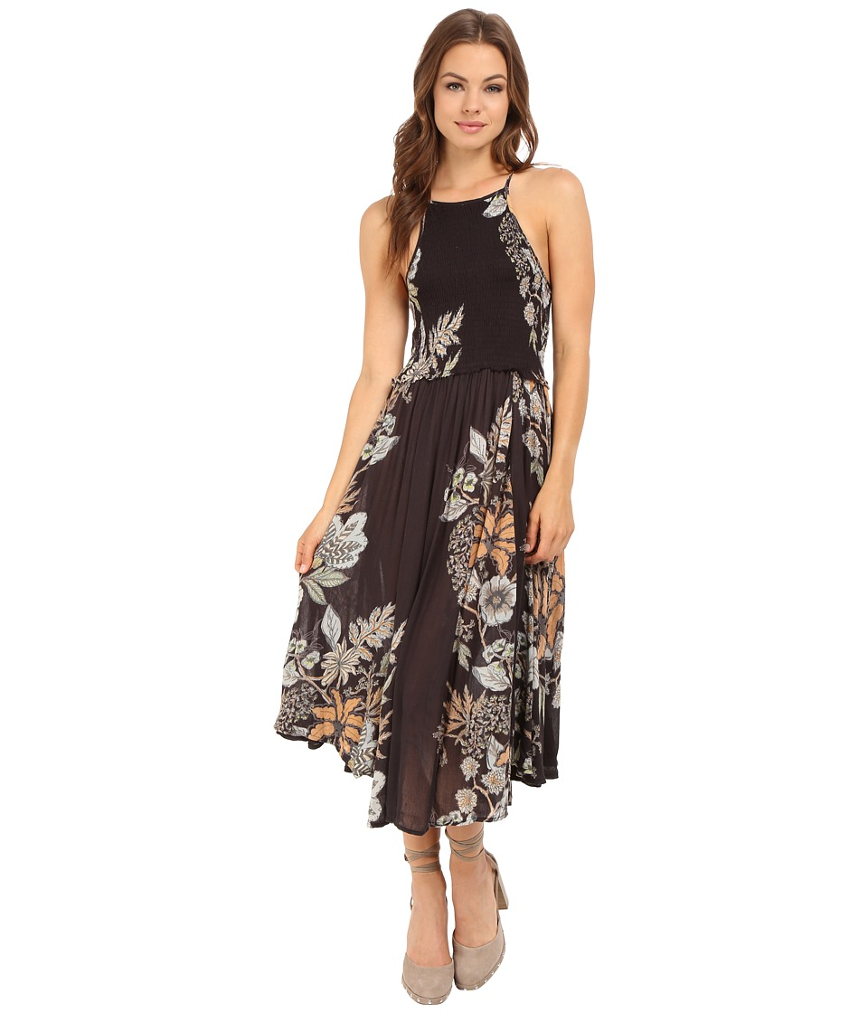 Free People - Seasons in the Sun Slip (Black Combo) Women's Dress
