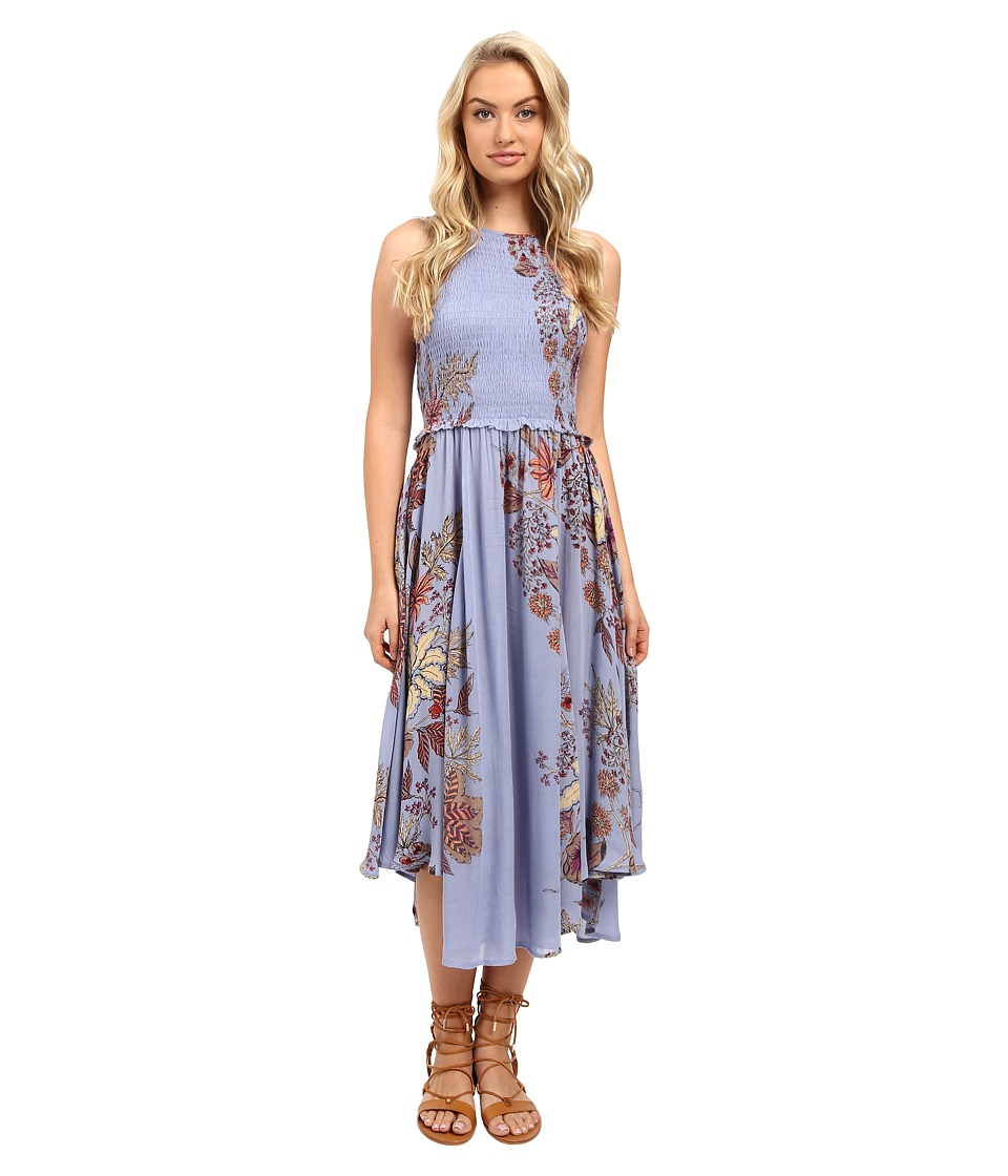 Free People - Seasons in the Sun Slip (Blue Combo) Women's Dress