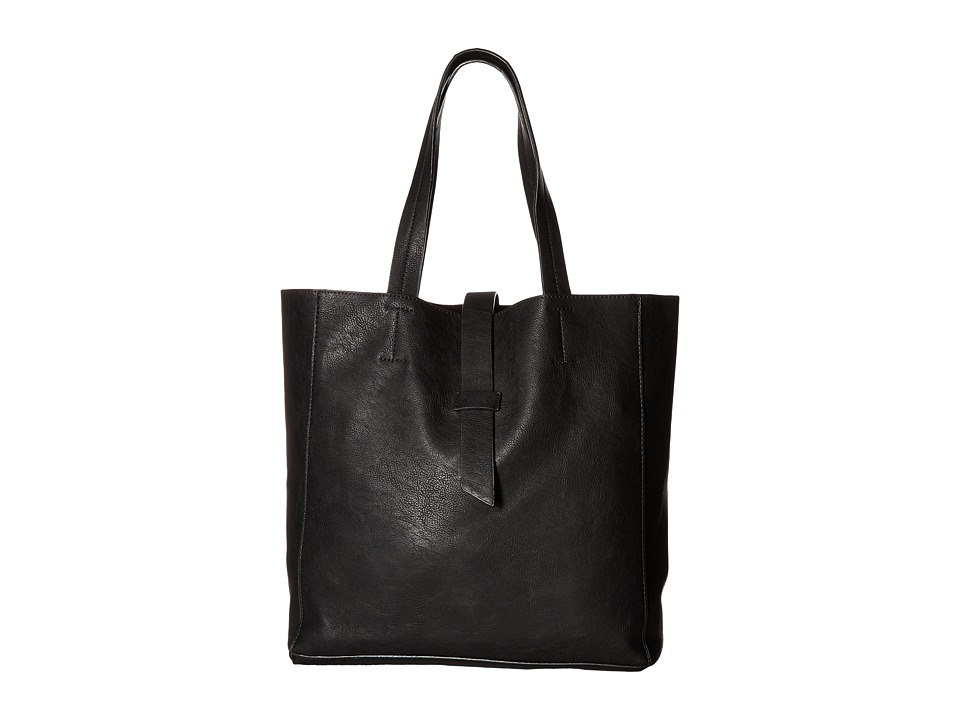Gabriella Rocha - Taliyah Tote with Strap Closure (Black) Tote Handbags
