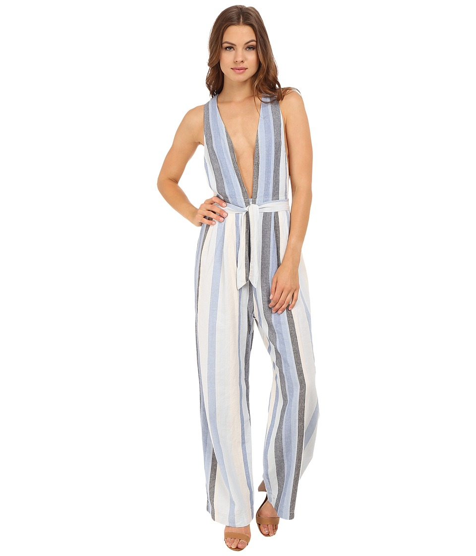 Free People - My Kind of Woman One-Piece (Blue Combo) Women's Jumpsuit & Rompers One Piece