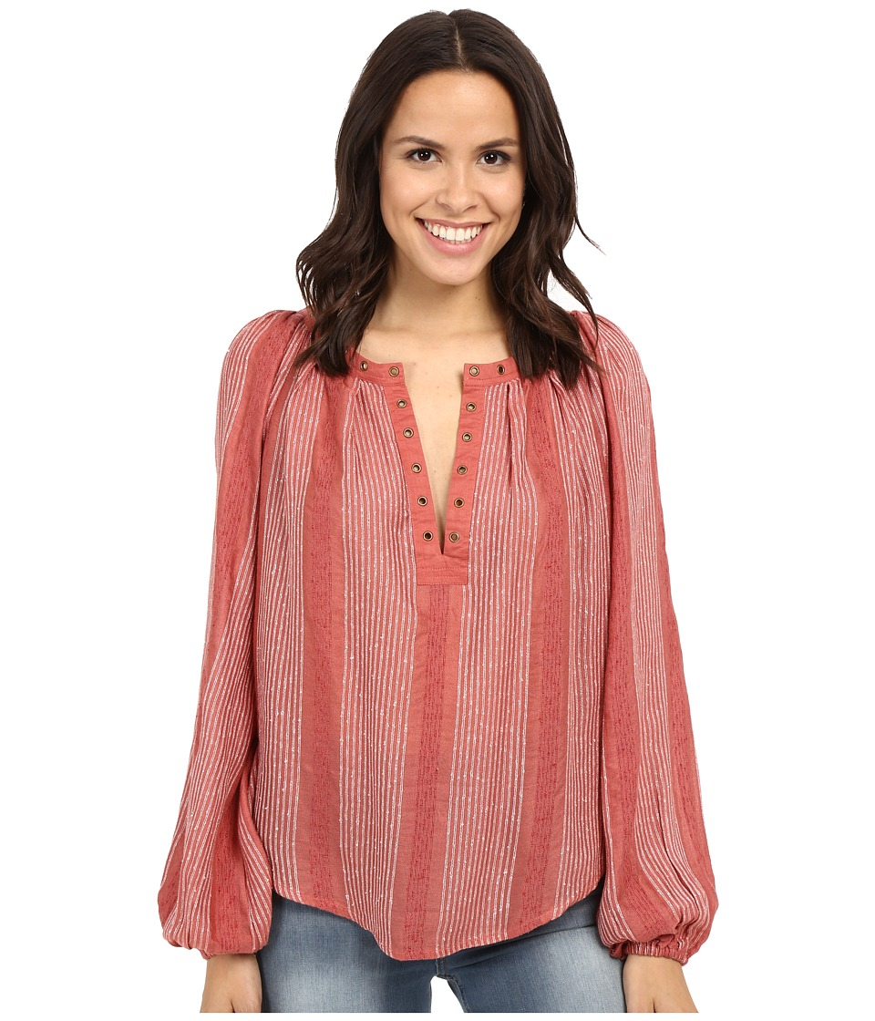 Free People - Against All Odds Top (Desert Sun Combo) Women's Clothing