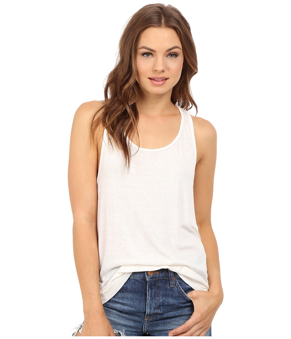 Free People - Break of Dawn Solid Top (Ivory) Women's Clothing
