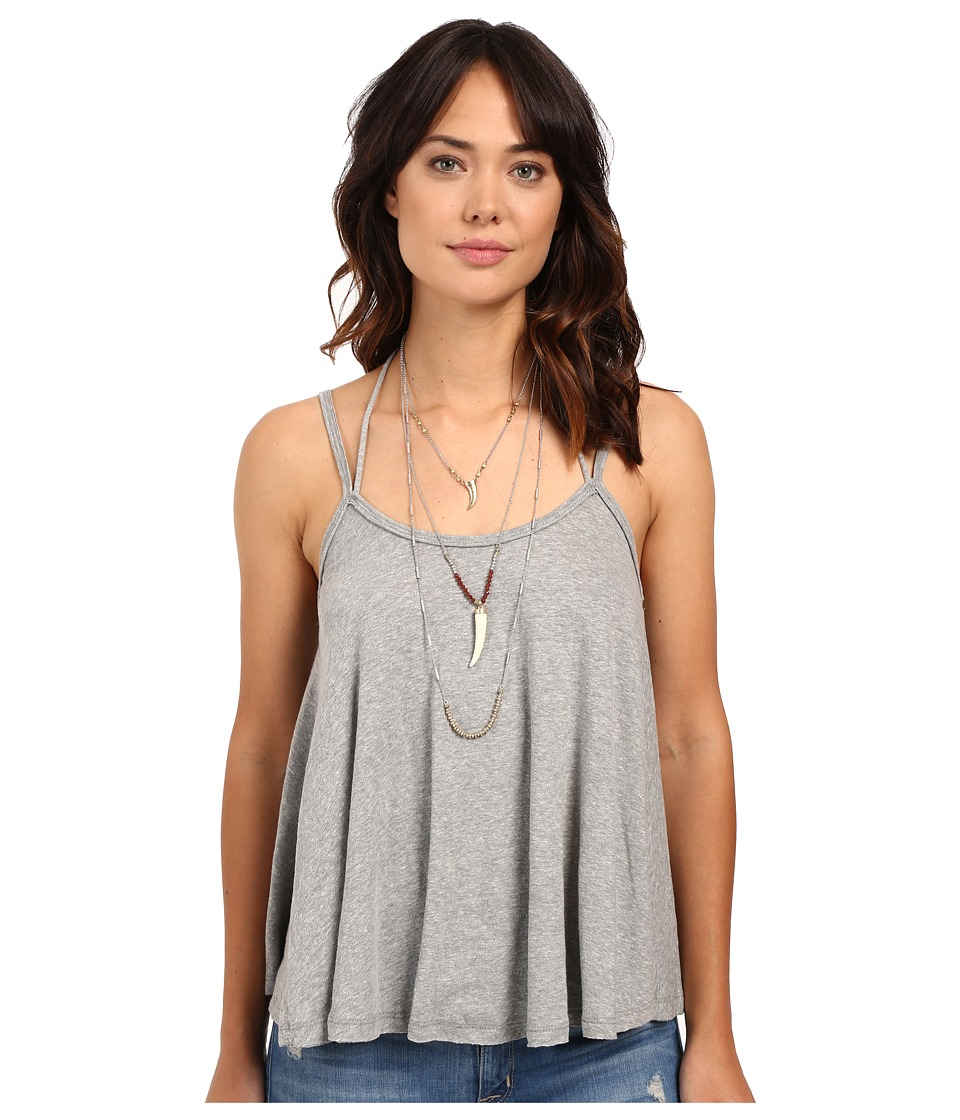 Free People - So in Love with You Tank Top (Grey) Women's Sleeveless
