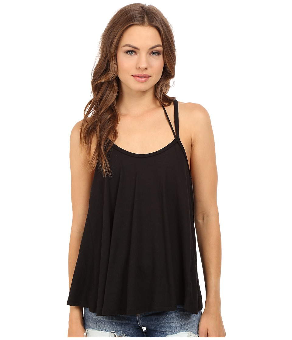 Free People - So in Love with You Tank Top (Black) Women's Sleeveless
