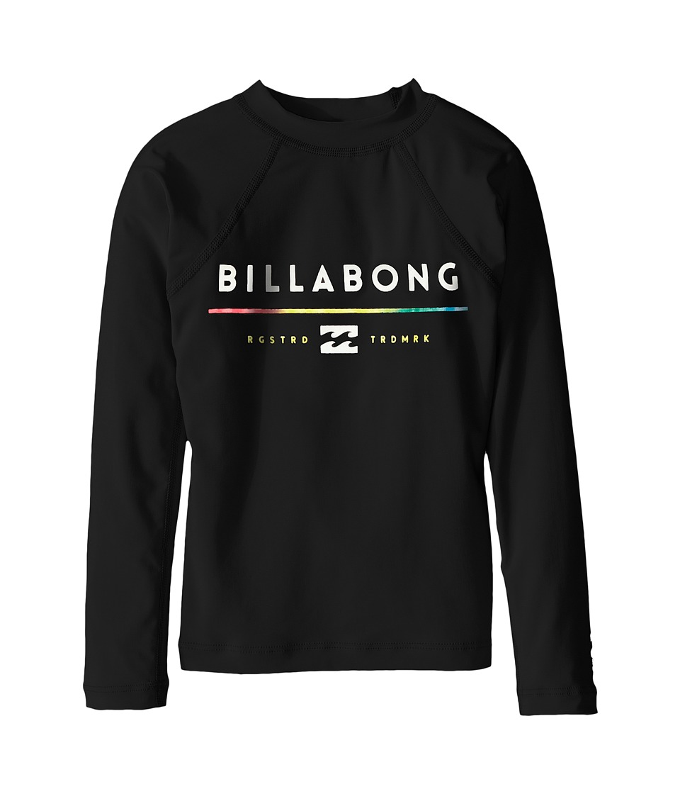Billabong Kids - All day Long Sleeve Shirt (Toddler/Little Kids/Big Kids) (Black) Boy's Long Sleeve Pullover