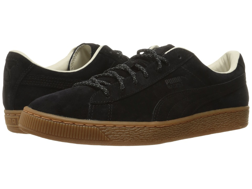 PUMA - Basket Classic Winterized (Puma Black) Men's Shoes