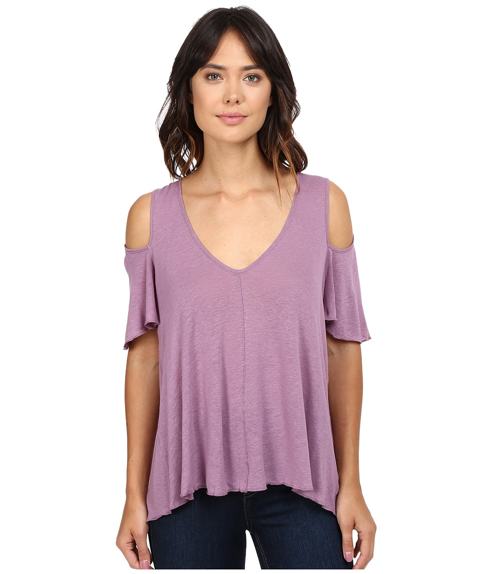 Free People - Bittersweet Tee (Purple) Women's T Shirt