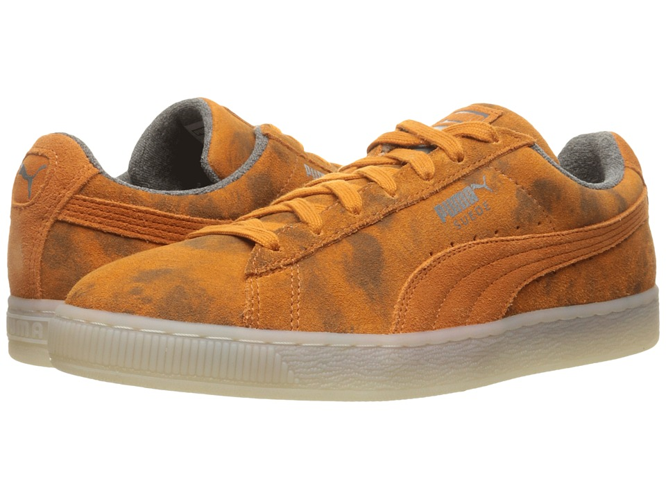 PUMA - Suede Classic Elemental (Burnt Orange) Men's Shoes