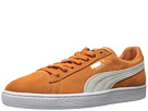 Suede Classic + (Burnt Orange/Puma White)